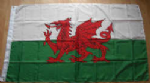 Wales Large Country Flag - 3' x 2'.